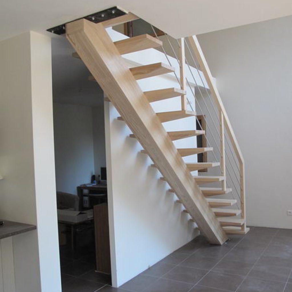 escalier droit 10 marches