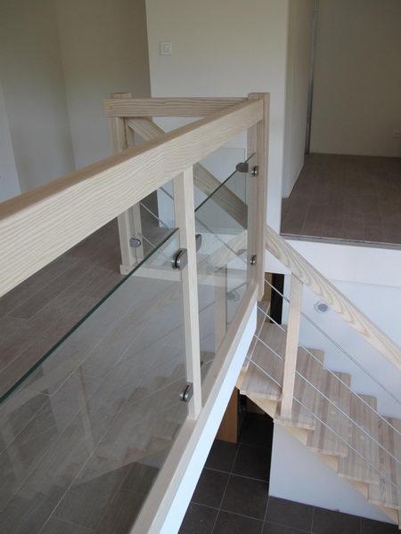 Garde Corps Bois Escalier : Escalier – rampe – poteaux – garde-corps sur escalier-bois.com