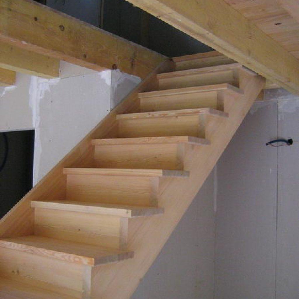 fabriquer un escalier droit fashion designs. Black Bedroom Furniture Sets. Home Design Ideas