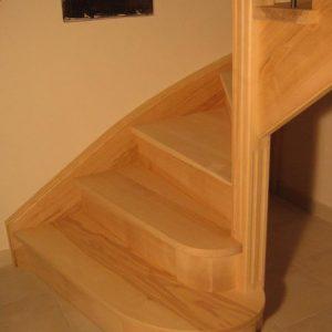 marche de départ - escalier - espace-bois.com